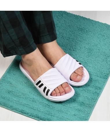 Papuci De Barbati Aster Albi - Trendmall.ro