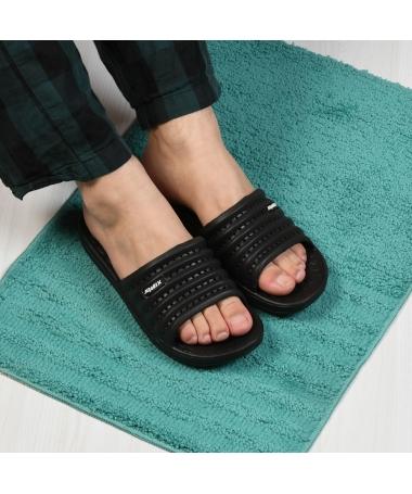 Papuci De Barbati Jomix Negri - Trendmall.ro