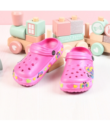 Papuci Crocs De Copii Kiddo Fuchsia - Trendmall.ro