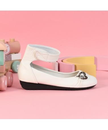 Pantofi Casual De Copii Sine Albi - Trendmall.ro