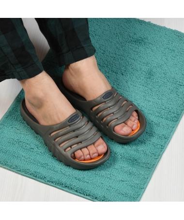 Papuci De Barbati Tom Gri - Trendmall.ro