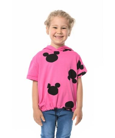 Tricou de copii Mikey Mouse Fuchsia - Trendmall.ro