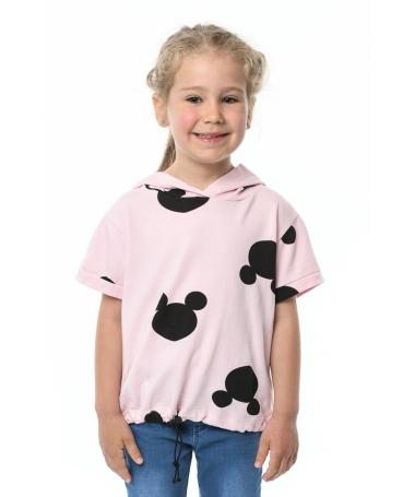 Tricou De Copii Mikey Mouse Roz - Trendmall.ro