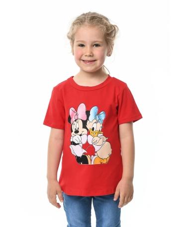 Tricou De Copii Minnie Rosu - Trendmall.ro