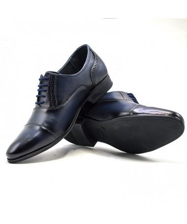 Pantofi Din Piele Naturala Filip De Barbati - Trendmall.ro