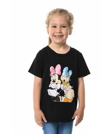 Tricou De Copii Minnie Negru - Trendmall.ro