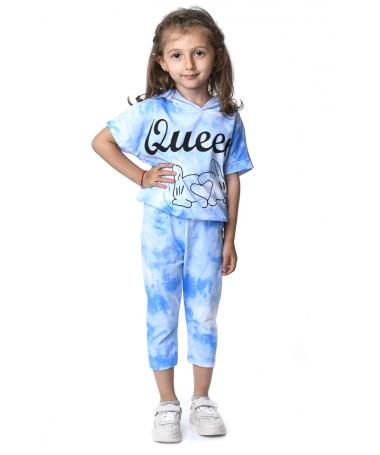 Compleu De Copii Queen Albastru - Trendmall.ro