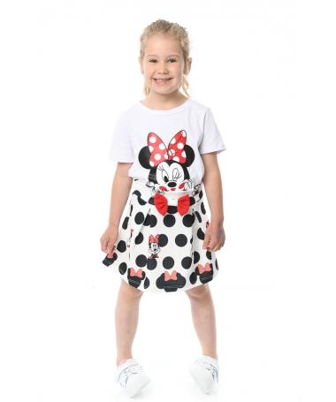 Compleu De Copii Minnie Alb - Trendmall.ro