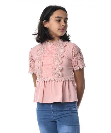 Tricou De Copii Dona Roz - Trendmall.ro