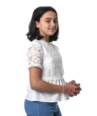 Tricou De Copii Dona Alb - Trendmall.ro