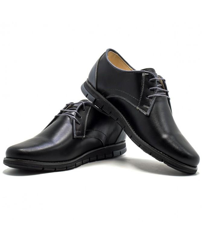 Pantofi Din Piele Naturala Lukka De Barbati - Trendmall.ro