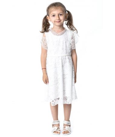 Rochie De Copii Pamela Alba - Trendmall.ro