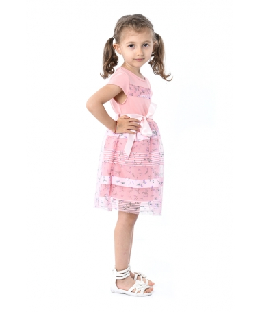 Rochie De Copii Erica Roz - Trendmall.ro