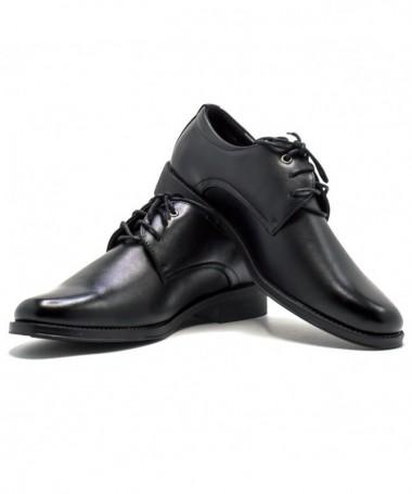 Pantofi Zanili Negri De Barbati - Trendmall.ro