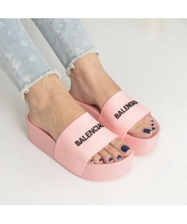 Papuci De Dama Balen Roz - Trendmall.ro