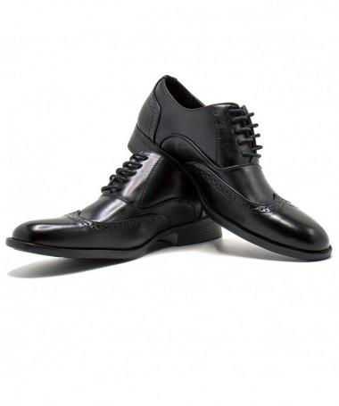Pantofi De Barbati Bameli Negri - Trendmall.ro