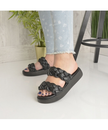 Papuci De Dama Salma Negri - Trendmall.ro