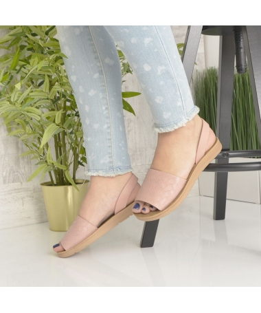 Sandale De Dama Sanzy Roz - Trendmall.ro