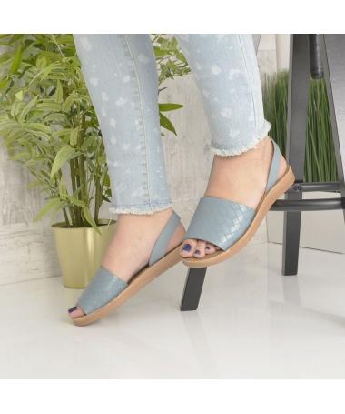 Sandale De Dama Sanzy Albastre - Trendmall.ro