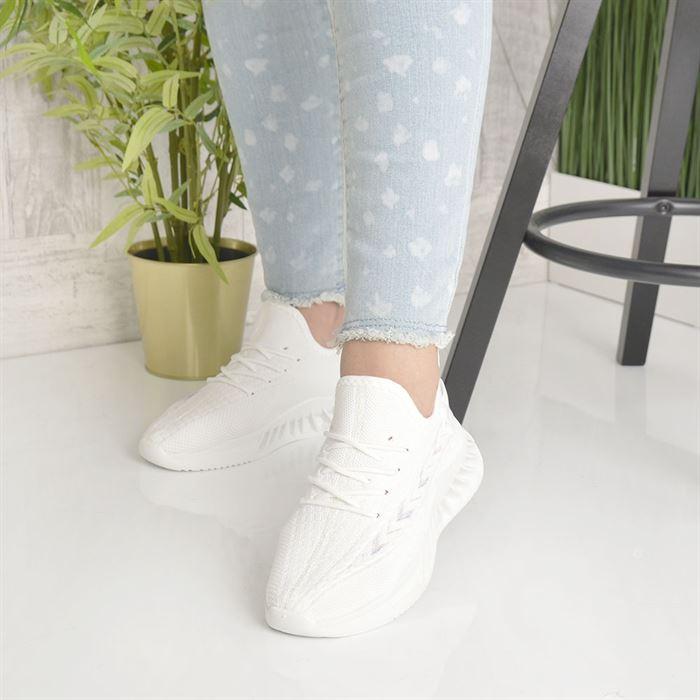 Pantofi Sport De Dama Rona Albi - Trendmall.ro