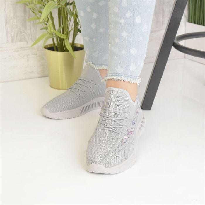 Pantofi Sport De Dama Rona Gri - Trendmall.ro