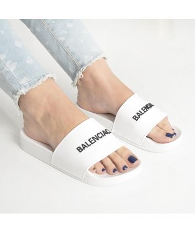 Papuci De Dama Cori Albi - Trendmall.ro