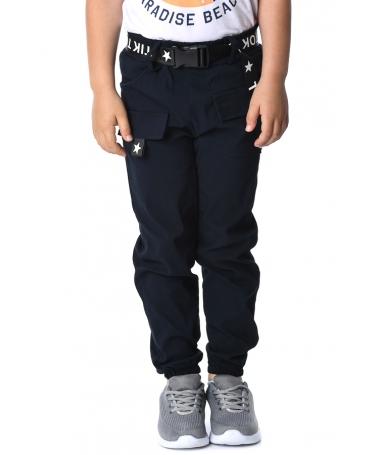 Pantaloni Sport De Copii Andi Albastri Inchis - Trendmall.ro