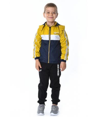 Geaca De Copii Raman Galbena - Trendmall.ro