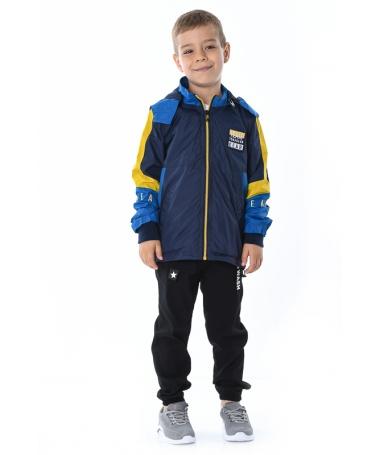 Geaca De Copii Gear Albastru Inchis - Trendmall.ro