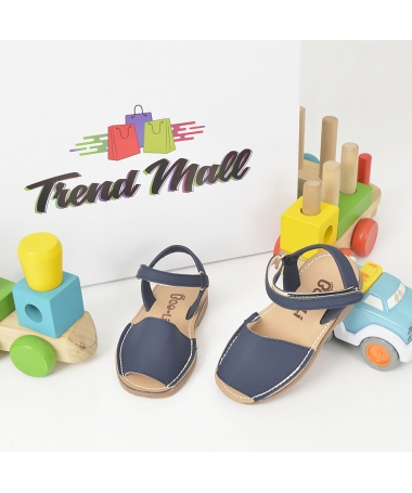 Sandale De Copii Carina Albastru - Trendmall.ro