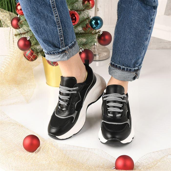 Pantofi Sport De Dama Tenesis Negru - Trendmall.ro