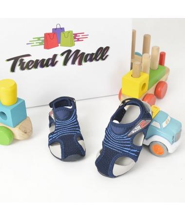 Sandale De Copii Darius Albastre Inchis - Trendmall.ro