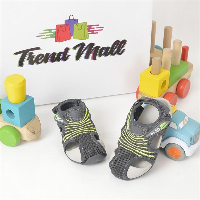Sandale De Copii Darius Gri - Trendmall.ro