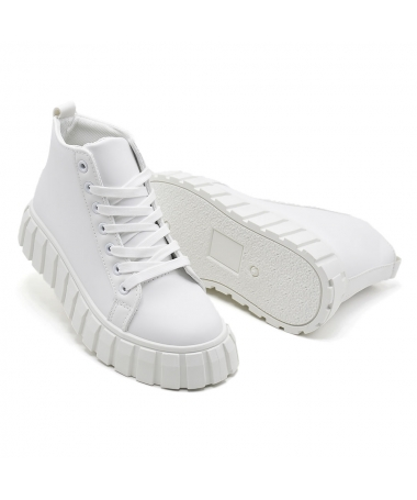 Pantofi Sport De Dama Dimea Albi - Trendmall.ro