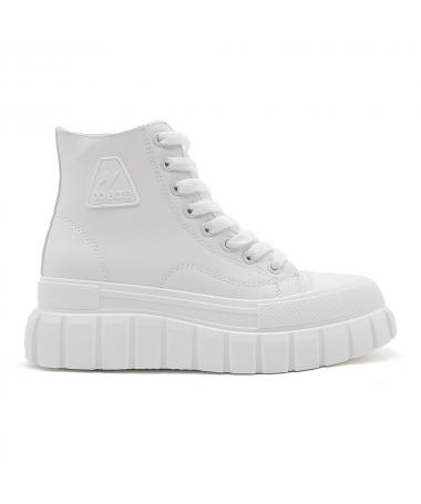 Pantofi Sport De Dama Core Albi - Trendmall.ro