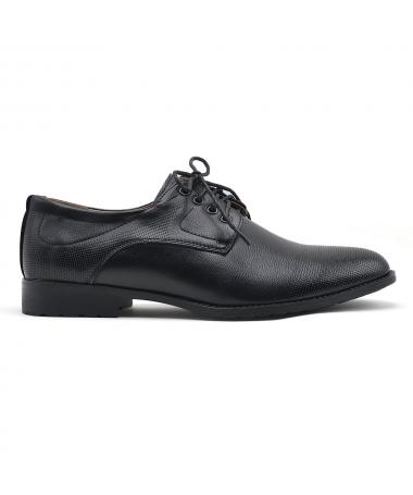 Pantofi Office De Barbati Neor Negri - Trendmall.ro