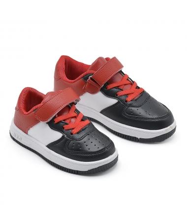 Pantofi Sport De Copii Golen Negru Cu Alb - Trendmall.ro