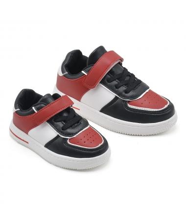Pantofi Sport De Copii Aven Negru Cu Rosu - Trendmall.ro