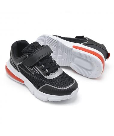 Pantofi Sport De Copii Negri LD2081 - Trendmall.ro
