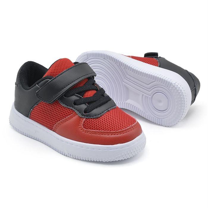 Pantofi Sport De Copii Negru Cu Rosu KJ9137 - Trendmall.ro