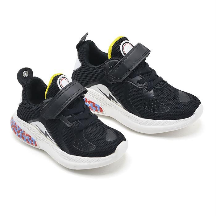 Pantofi Sport De Copii Negru Cu Galben LD-3033D - Trendmall.ro
