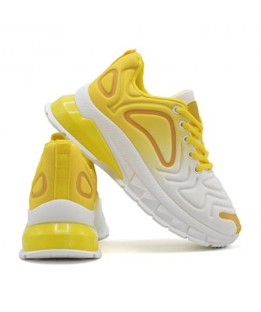 Pantofi Sport De Dama D827 Galben - Trendmall.ro
