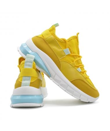 Pantofi Sport De Dama X2905 Galben - Trendmall.ro