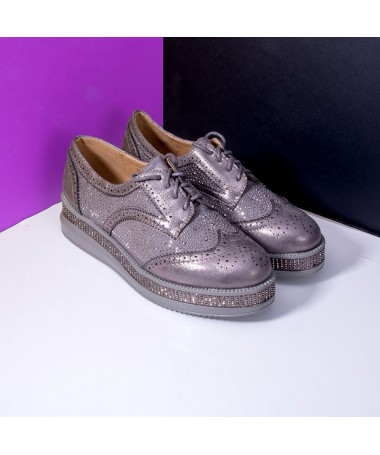 Pantofi De Dama Ravina Gri - Trendmall.ro