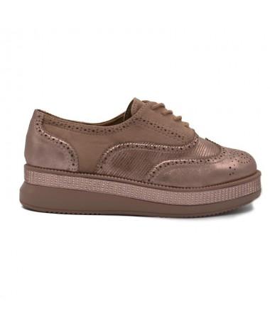 Pantofi De Dama Mauni Roz - Trendmall.ro
