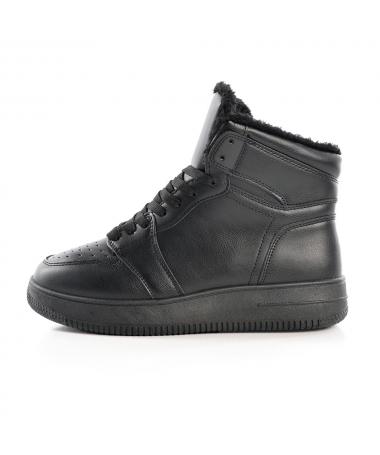 Pantofi Sport Imblaniti De Barbati J1861 J1861 Negre - Trendmall.ro