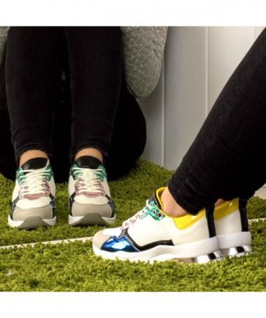 Pantofi Sport De Dama Vaneli Albi - Trendmall.ro
