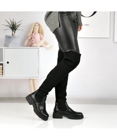 Cizme De Dama ABC-851 Negre - Trendmall.ro