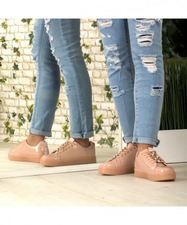 Pantofi Sport De Dama Mosini Roz - Trendmall.ro
