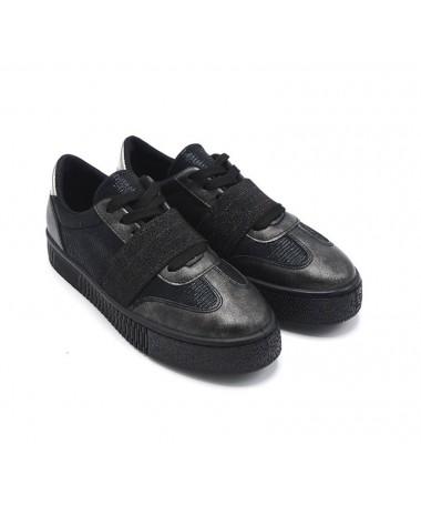 Pantofi Sport De Dama Mirima Negri - Trendmall.ro